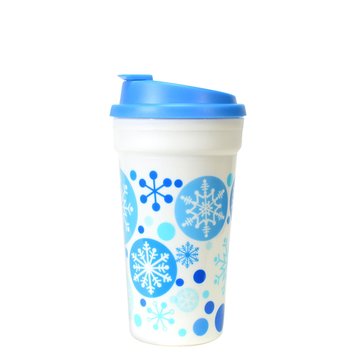 Bright Blue / Penguins 15 Oz Holiday Coffee Mug at Cool Gear Winter Holiday