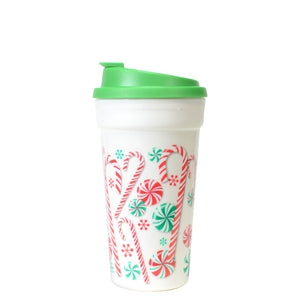 Forest Green / Candy 15 Oz Holiday Coffee Mug at Cool Gear Winter Holiday