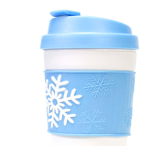 15 Oz Holiday Coffee Mug with Reversible Band at Cool Gear Water Bottles,Large Volume