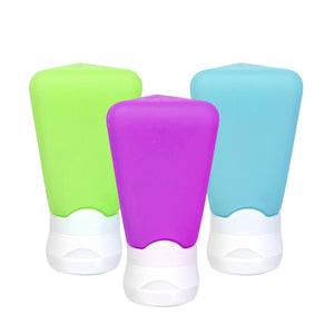 Blue, Green, Purple Travel Tubes (3 Oz, 3-Pack) at Cool Gear Travel-Accessories