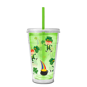 Leprechauns 20 Oz St. Patrick's Day Printed Chiller at Cool Gear St. Patrick's