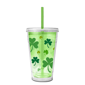 Shamrocks 20 Oz St. Patrick's Day Printed Chiller at Cool Gear St. Patrick's
