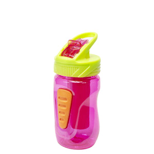Pink / Lime Green Quorra 12 Oz Water Bottle at Cool Gear Kids,Water Bottles