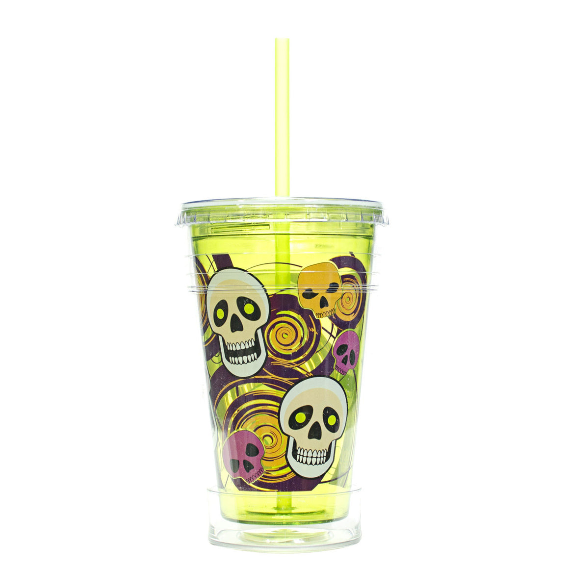 Purple / Skeletons 20 Oz Halloween Chiller at Cool Gear Halloween