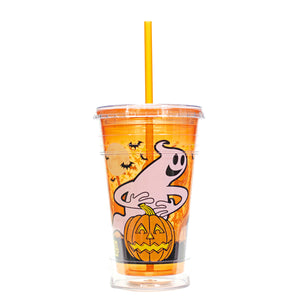 Orange / Pumpkins 20 Oz Halloween Chiller at Cool Gear Halloween