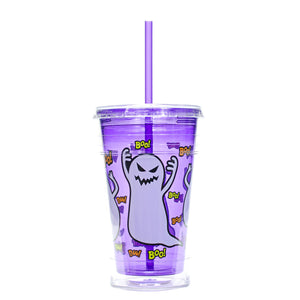 Purple / Ghosts 20 Oz Halloween Chiller at Cool Gear Halloween