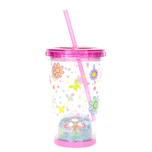 Cool Gear | 21 Oz Easter Snowglobe Chiller in Pastel Pink / Flowers