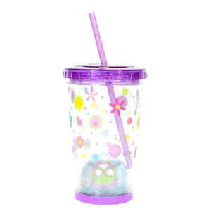 Cool Gear | 21 Oz Easter Snowglobe Chiller in Pastel Purple / Flowers