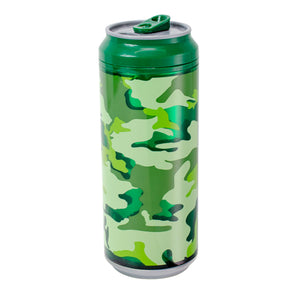 Dark Green / Bam-O-Camo 16 Oz coolgearcan at Cool Gear Coolgearcans