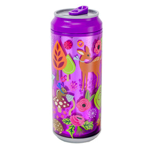 Pink / Forest Friends 16 Oz coolgearcan at Cool Gear Coolgearcans