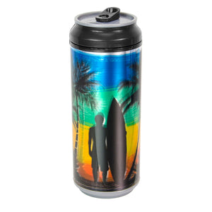 Black / Sunset Surf 16 Oz coolgearcan at Cool Gear Coolgearcans