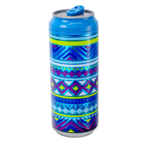 Light Blue / Tribal Revival 16 Oz coolgearcan at Cool Gear Coolgearcans