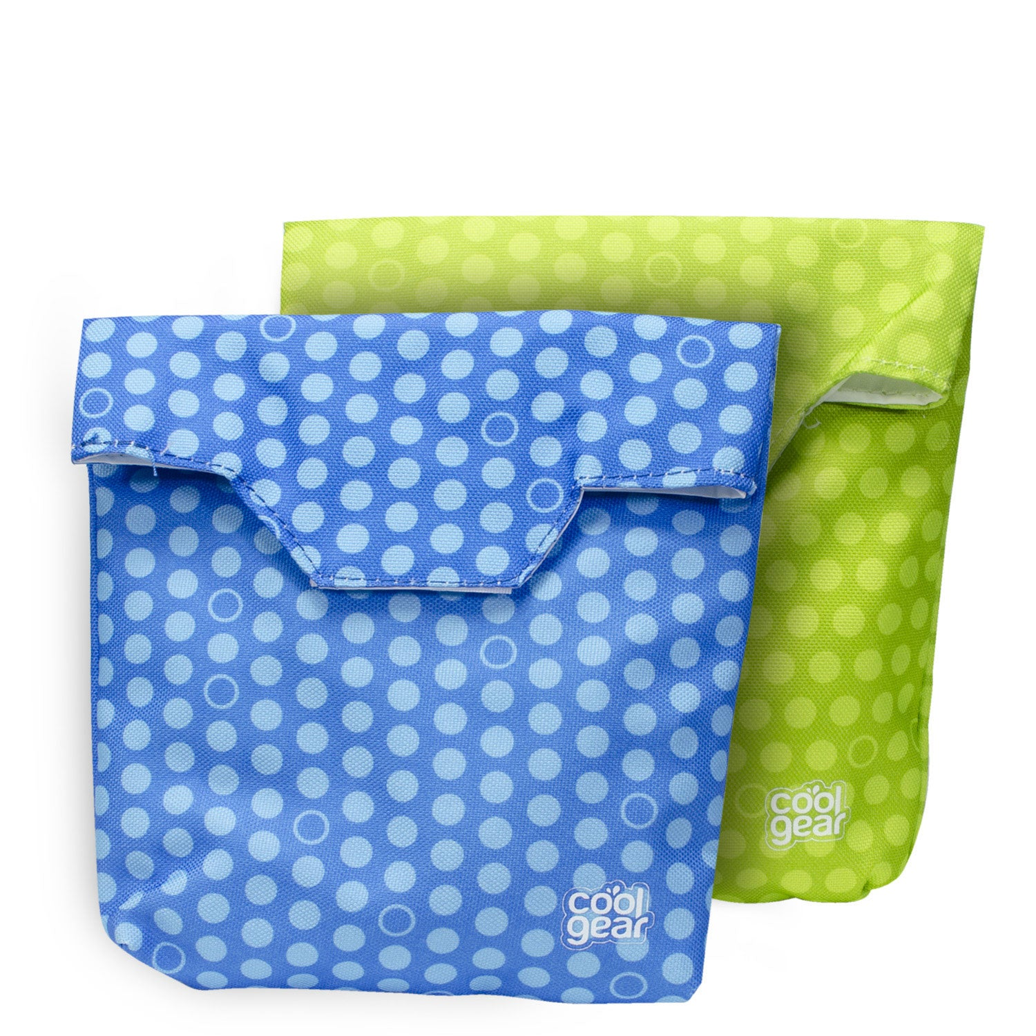 Reusable Sandwich Bags 2 Pk Sandwich Container In Blue Green