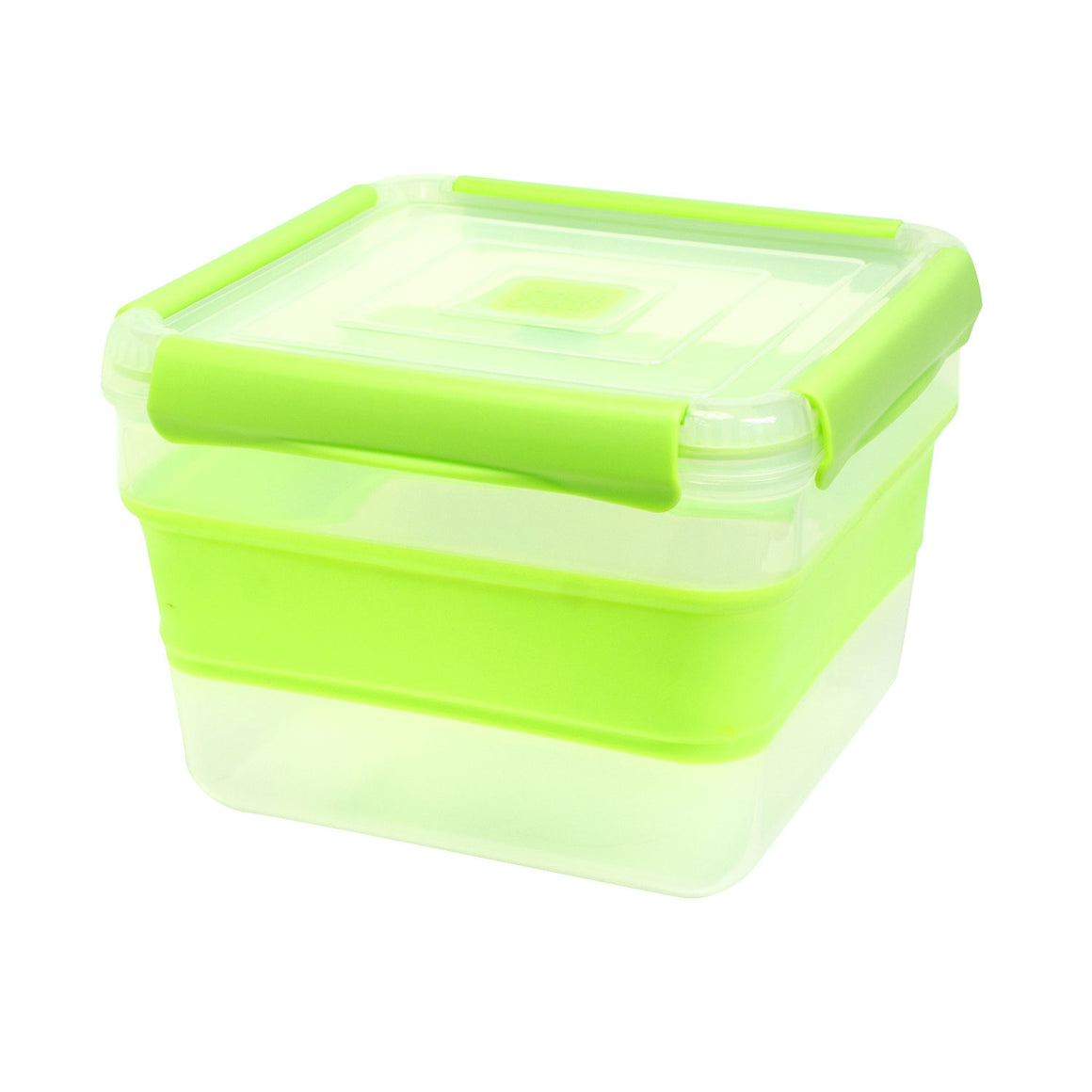 Green 14 Cup Expandable Large Square Food Container at Cool Gear Food Containers