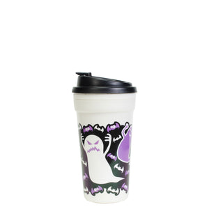 Black / Ghosts And Bats 15 Oz Halloween Coffee Mug at Cool Gear Halloween