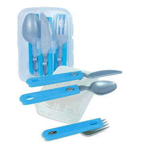 Slider utensils in blue, green and purple at Cool Gear Accessories/Food Storage