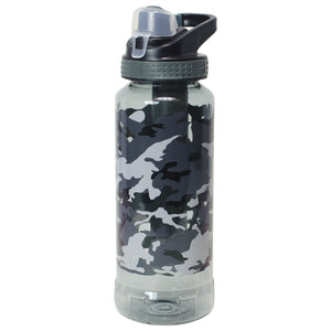 Dark Gray / Camo Rigid 32 Oz Printed Water Bottle at Cool Gear Water Bottles