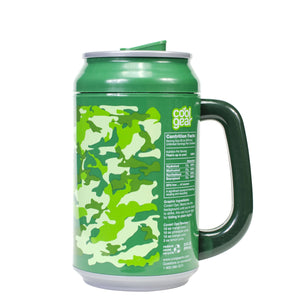 Dark Green / Covert Ops 33 Oz coolgearcan with Handle at Cool Gear Coolgearcans
