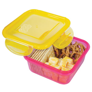 14.8 Oz Snap N Seal Small Square Food Container at Cool Gear Food Containers