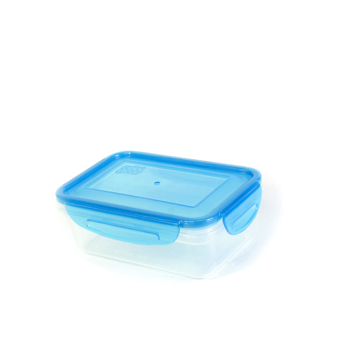 Blue 17.9 Oz Snap N Seal Small Rectangle Food Container at Cool Gear Food Containers