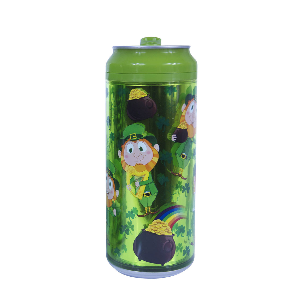 Leprechauns/Pots Of Gold 16 Oz St. Patrick's Day coolgearcan at Cool Gear St. Patrick's