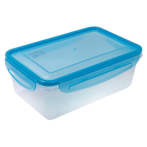 Blue 41.6 Oz Snap N Seal Medium Rectangle Food Container at Cool Gear Food Containers
