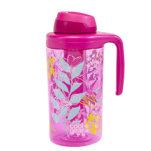 Pink / Hibiscus Collinear 62.5 Oz Water Bottle at Cool Gear Water Bottles,Large Volume