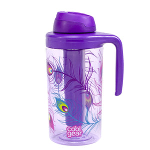 Purple / Peacock Collinear 62.5 Oz Water Bottle at Cool Gear Water Bottles,Large Volume