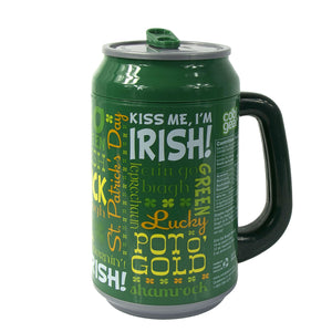 Erin Go Bragh 33 Oz St. Patrick's Days coolgearcan at Cool Gear St. Patrick's