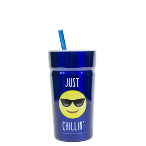 Dark Blue / Just Chillin' Cayambe 12 Oz Tumbler at Cool Gear Tumblers,Kids