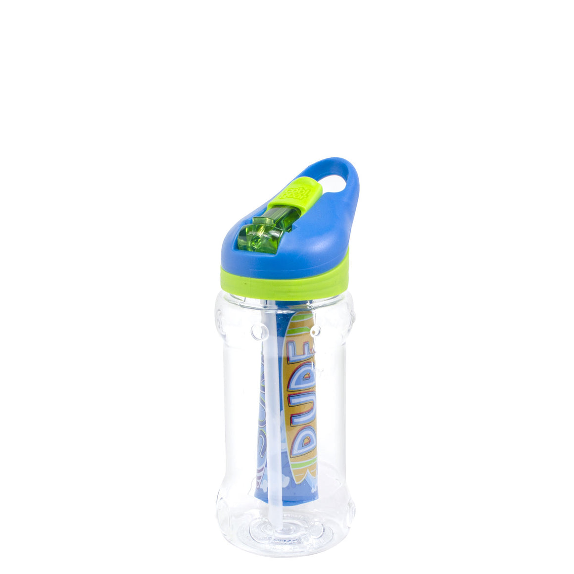 Bright Green / Camo Paloma 14 Oz Water Bottle at Cool Gear Kids,Water Bottles