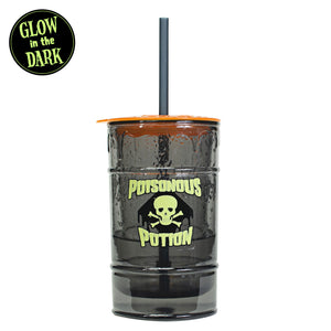 Dark Gray / Orange 12 Oz Halloween Gel Chiller Tumbler at Cool Gear Halloween