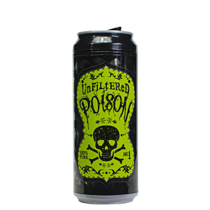 Black / Unfiltered Poison 16 Oz Halloween Coolgearcan at Cool Gear Halloween