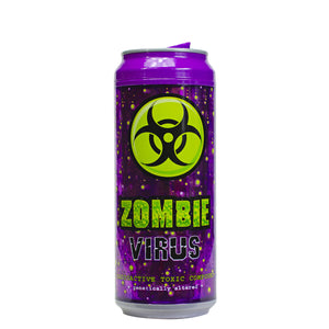 Purple / Zombie Virus 16 Oz Halloween Coolgearcan at Cool Gear Halloween