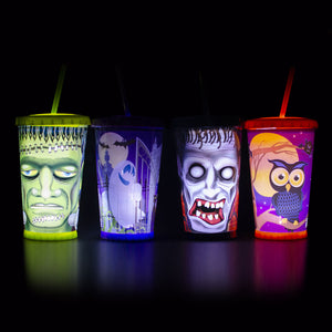 24 Oz Light Up Halloween Chiller at Cool Gear Halloween