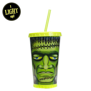 Green / Monster 24 Oz Light Up Halloween Chiller at Cool Gear Halloween