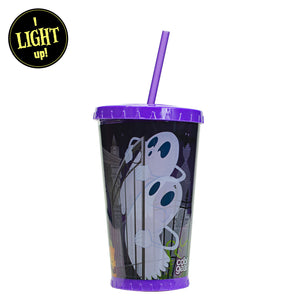 Purple / Cemetery 24 Oz Light Up Halloween Chiller at Cool Gear Halloween