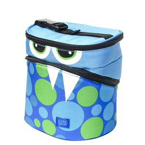 Blue Monster Dots Monster Insulated Lunch Bag at Cool Gear Lunch Bags