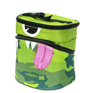 Green Monster Camo Monster Insulated Lunch Bag at Cool Gear Lunch Bags
