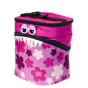 Pink Monster Flowers Monster Insulated Lunch Bag at Cool Gear Lunch Bags