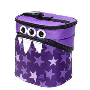 Purple Monster Stars Monster Insulated Lunch Bag at Cool Gear Lunch Bags