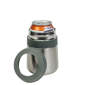 Stainless Steel Double Wall Coozie at Cool Gear Stainless Steel