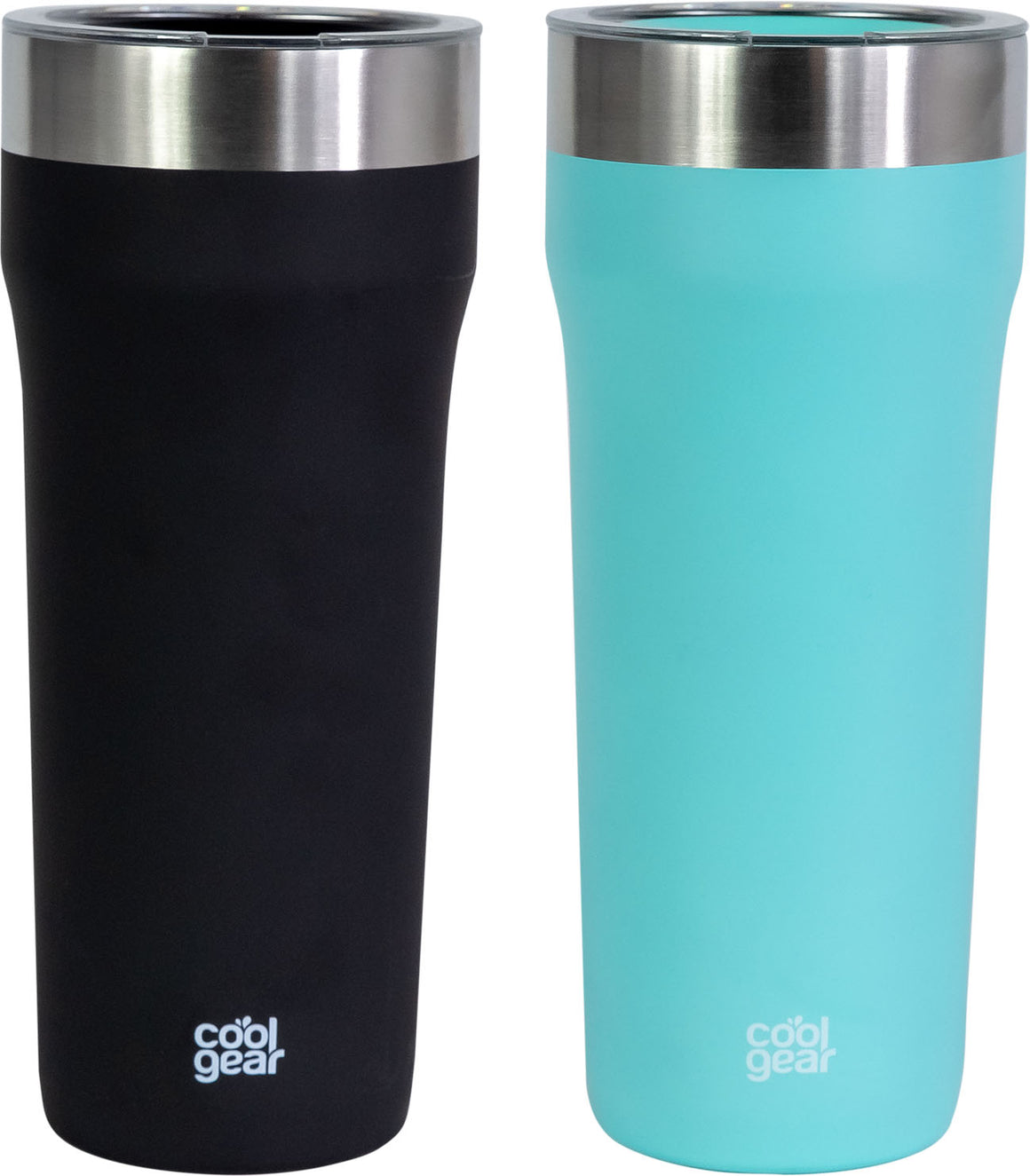 COOL GEAR Eclipse 30oz Stainless Steel Tumbler | Slide & Sip Lid