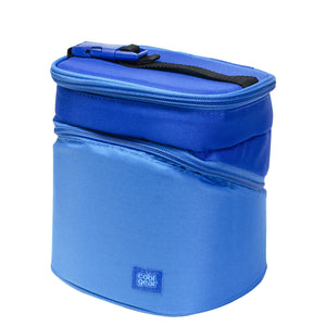 Royal Blue Wedge Insulated Lunch Bag at Cool Gear Lunch Bags