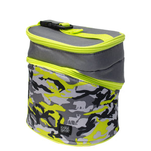 Gray Camo Wedge Insulated Lunch Bag at Cool Gear Lunch Bags