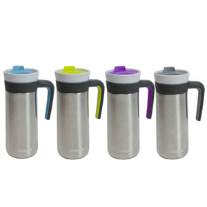 Kona Handle 12 Oz Travel Mug at Cool Gear Coffee Tea,Travel Mugs,Stainless Steel