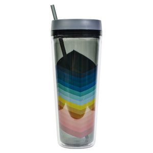 Smoke / Stripes Callisto 32 Oz Printed Chiller at Cool Gear Tumblers
