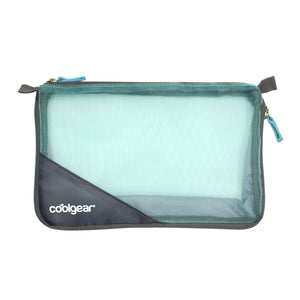 Aqua Expandable Mesh Travel Bag at Cool Gear Travel Bags