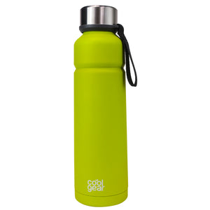 Lime Green Cayambe 24 Oz Double Wall Water Bottle at Cool Gear Water Bottles,Stainless Steel