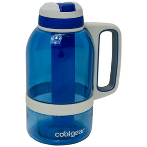 Dark Blue System 64 Oz Water Bottle at Cool Gear Water Bottles